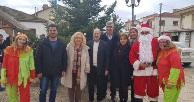 Χριστουγεννιάτικη γιορτή για τα παιδιά στην Όλυνθο
