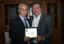 Ο Δήμαρχος Ν.Προποντίδας τίμησε τον κ.Αστέριο Ουζούνη για τα 32 χρόνια προσφοράς του στην Τοπική Αυτοδιοίκηση