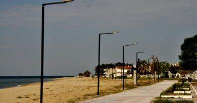 Χαλκιδική: Εκτεταμένα έργα στη Νέα Τρίγλια και τα Νέα Πλάγια (ΦΩΤΟ)