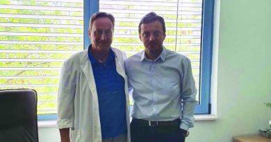Ο Απ. Πάνας επισκέφθηκε το Κέντρο Υγείας Νέας Καλλικράτειας