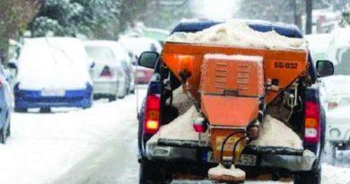 Γεμάτες με 18 τόνους αλάτι αποχιονισμού οι αποθήκες της ΠΚΜ