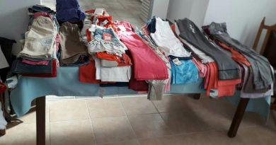 Δωρεάν παιδικά ρούχα στη Νικήτη