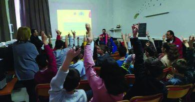 Επίσκεψη της Ελληνικής Ομάδας Διάσωσης στο Δημοτικό Σχολείο Φλογητών