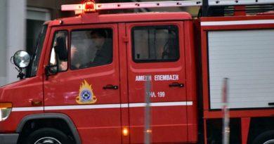 Πυρκαγιά σε λεβητοστάσιο κατοικιών στις Καλύβες Χαλκιδικής