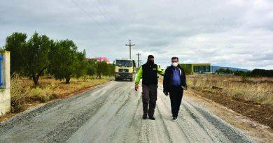 Επίσκεψη του Δημάρχου Μ. Καρρά στο Λάκκωμα