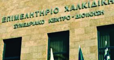 Παρέμβαση του Επιμελητηρίου Χαλκιδικής προς το Υπουργείο Ανάπτυξης & Επενδύσεων για τον αποκλεισμό των επιχειρήσεων με υποκαταστήματα από προγράμματα ενίσχυσης