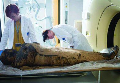 Μούμια εγκύου αποκαλύφθηκε για πρώτη φορά στα χρονικά